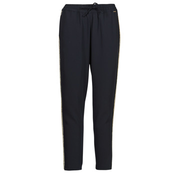 tekstylia Damskie Spodnie z lejącej tkaniny / Alladynki Liu Jo WA1111-T7982-93923 Marine