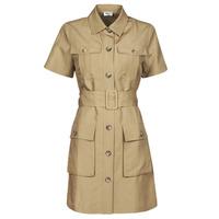 tekstylia Damskie Sukienki krótkie Liu Jo WA1301-T4818-X0365 Beżowy