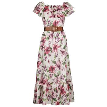 tekstylia Damskie Sukienki długie Liu Jo WA1496-T5976-T9706 Fleuri