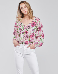 tekstylia Damskie Topy / Bluzki Liu Jo WA1084-T5976-T9706 Fleuri