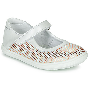Buty Dziewczynka Baleriny GBB PLACIDA Biały