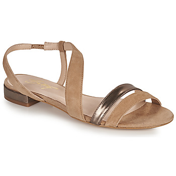 Buty Damskie Sandały Betty London OCOLI Beżowy