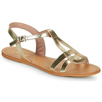 Buty Damskie Sandały So Size DURAN Złoty