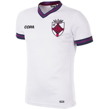 tekstylia Męskie T-shirty z krótkim rękawem Copa Football Maillot Copa Angleterre blanc