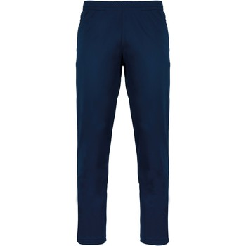 tekstylia Spodnie dresowe Proact Pantalon de survêtement bleu marine