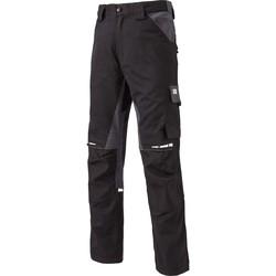 tekstylia Spodnie bojówki Dickies Pantalon  Gdt Premium noir/gris