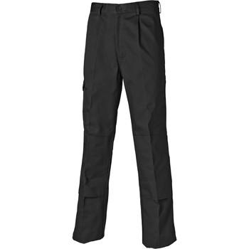 tekstylia Męskie Spodnie bojówki Dickies Pantalon  Redhawk Super noir