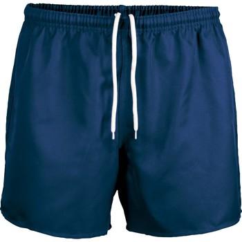 tekstylia Szorty i Bermudy Proact Short Praoct Rugby bleu royal/bleu