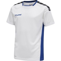 tekstylia Dziecko T-shirty z krótkim rękawem Hummel Maillot  enfant hmlAUTHENTIC Poly HML blanc/rouge