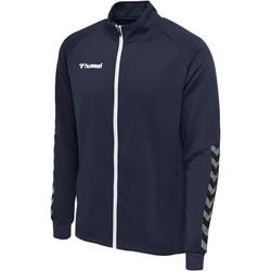 tekstylia Męskie Bluzy dresowe Hummel Veste  Zip hmlAUTHENTIC Poly bleu marine