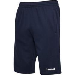 tekstylia Męskie Szorty i Bermudy Hummel Short  hmlGO cotton bleu marine