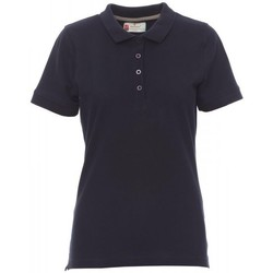 tekstylia Damskie Koszulki polo z krótkim rękawem Payper Wear Polo femme Payper Venice bleu marine