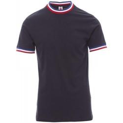 tekstylia Męskie T-shirty z krótkim rękawem Payper Wear T-shirt Payper Flag bleu roi/italie