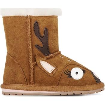 Buty Dziecko Śniegowce EMU Deer Walker Chestnut
