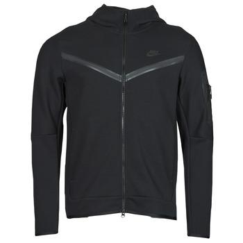 tekstylia Męskie Bluzy dresowe Nike NSTCH FLC HOODIE FZ WR Czarny