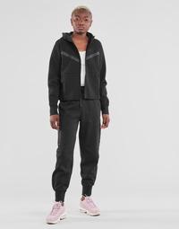 tekstylia Damskie Spodnie dresowe Nike NSTCH FLC ESSNTL HR PNT Czarny