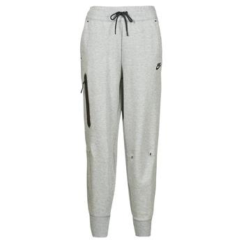 tekstylia Damskie Spodnie dresowe Nike NSTCH FLC ESSNTL HR PNT Szary / Czarny