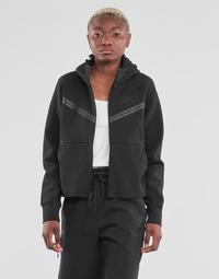 tekstylia Damskie Bluzy dresowe Nike NSTCH FLC WR ESSNTL FZ HDY Czarny