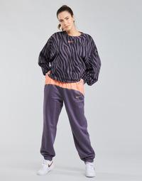 tekstylia Damskie Spodnie dresowe Nike NSICN CLSH JOGGER MIX HR Fioletowy / Różowy