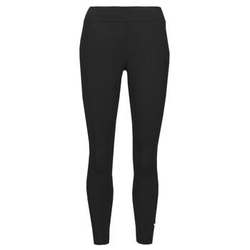 tekstylia Damskie Legginsy Nike NSESSNTL 7/8 MR LGGNG Czarny / Biały