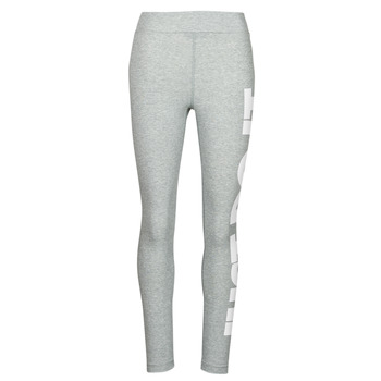 tekstylia Damskie Legginsy Nike NSESSNTL GX HR LGGNG JDI Szary / Biały