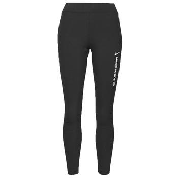 tekstylia Damskie Legginsy Nike NSSWSH LGGNG HR Czarny / Biały