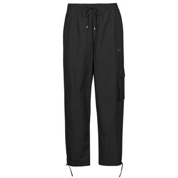 tekstylia Damskie Spodnie dresowe Nike NSICN CLASH PANT CANVAS HR Czarny / Szary