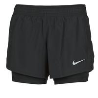 tekstylia Damskie Szorty i Bermudy Nike 10K 2IN1 SHORT Czarny