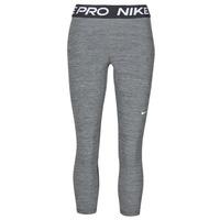 tekstylia Damskie Legginsy Nike NIKE PRO 365 TIGHT CROP Szary / Biały