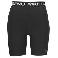 tekstylia Damskie Szorty i Bermudy Nike NIKE PRO 365 SHORT 7IN HI RISE Czarny / Biały