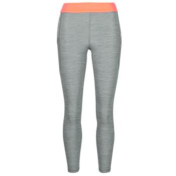 tekstylia Damskie Legginsy Nike NIKE PRO TIGHT 7/8 FEMME NVLTY PP2 Szary / Pomarańczowy / Biały