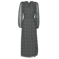 tekstylia Damskie Sukienki długie Vila VICELIMA Czarny