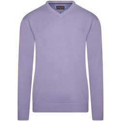 tekstylia Męskie Swetry Cappuccino Italia Pullover Lilac Paars
