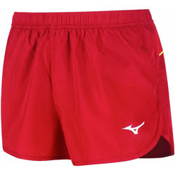 tekstylia Damskie Szorty i Bermudy Mizuno Short femme  Premium JPN Split rouge/rouge