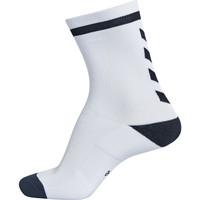 Dodatki Dziecko Skarpety Hummel Chaussettes  elite indoor sock low blanc/noir