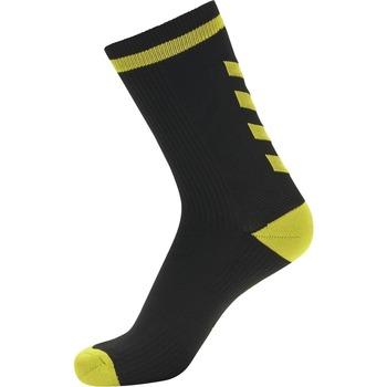 Dodatki Skarpety Hummel Chaussettes  Elite Indoor Low noir/jaune