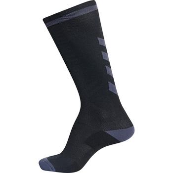 Dodatki Dziecko Skarpetki sportowe  Hummel Chaussettes  elite indoor high noir/gris foncé