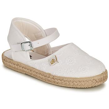 Buty Dziewczynka Baleriny Citrouille et Compagnie ORINO Biały