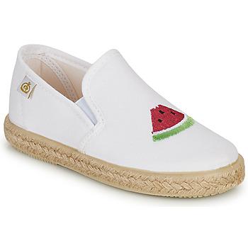 Buty Dziewczynka Baleriny Citrouille et Compagnie OFADA Biały