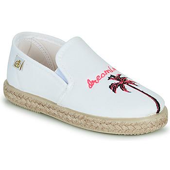 Buty Dziewczynka Baleriny Citrouille et Compagnie OWAT Biały