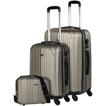 Torby Walizki twarde Itaca SEVRON Zestaw dwóch walizek plus potrzeba Szampana