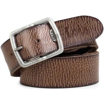 Dodatki Męskie Paski Lois Cracked leather Brązowy