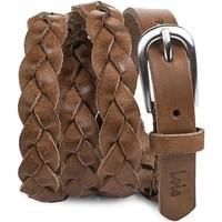 Dodatki Damskie Paski Lois Braided Leather Skórzane