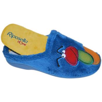 Buty Damskie Obuwie domowe Riposella RIP4593avio blu
