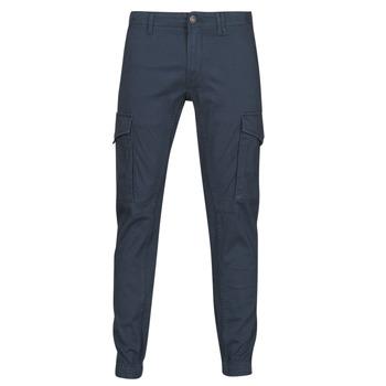tekstylia Męskie Spodnie bojówki Jack & Jones JJIPAUL Marine