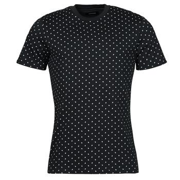 tekstylia Męskie T-shirty z krótkim rękawem Jack & Jones JJMINIMAL Marine