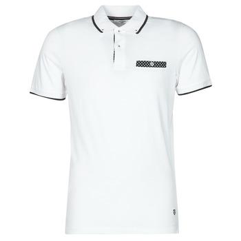 tekstylia Męskie Koszulki polo z krótkim rękawem Jack & Jones JPRBLABOLTON Biały