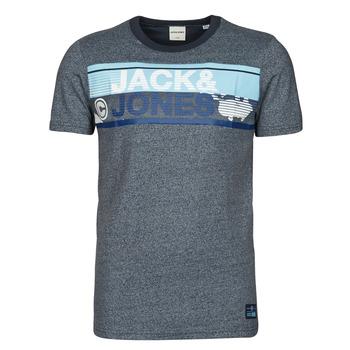 tekstylia Męskie T-shirty z krótkim rękawem Jack & Jones JCONICCO Marine