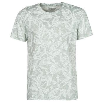 tekstylia Męskie T-shirty z krótkim rękawem Jack & Jones JORLEFO Szary