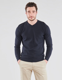 tekstylia Męskie Swetry Jack & Jones JJEBASIC Marine
